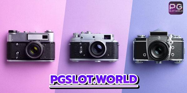 กล้องถ่ายรูปด้วยการเล่นเกมสล็อตจาก pg slot