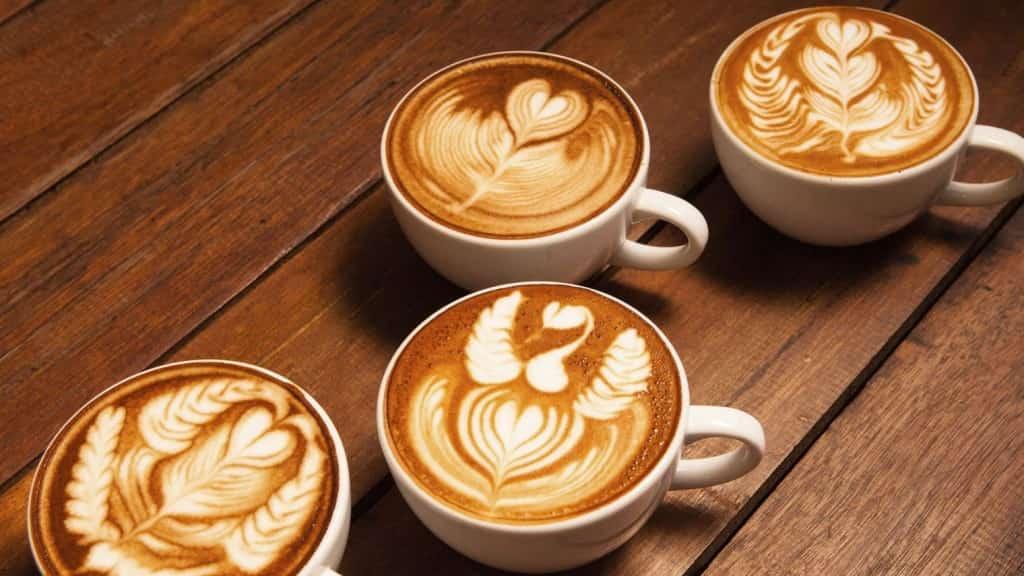 กาแฟ Latte (ลาเต้)