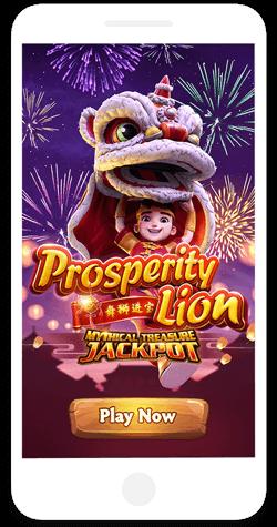 Prosperity Lion Jackpot Demo