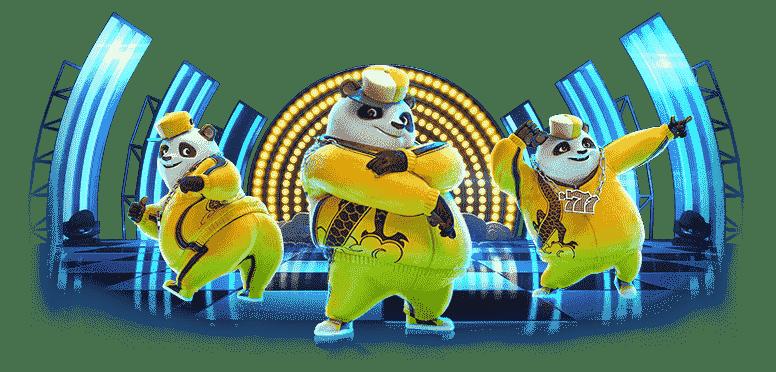 เกมสล็อต hiphop panda